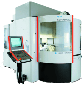 CAMplete Machine Partner - Mikron HSM 600U-LP
