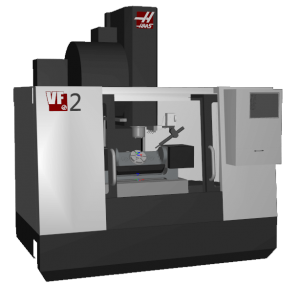 Haas VF-2TR CAMplete Simulation