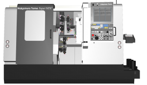 CAMplete TurnMill Machine Simulation - Super NTY3