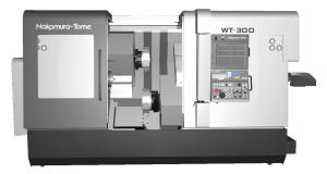CAMplete TurnMill Machine Simulation - WT 300