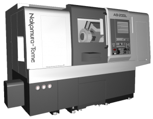 CAMplete TurnMill Machine Simulation - AS200L