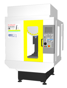 Fanuc Robodrill T21iE CAMplete Simulation