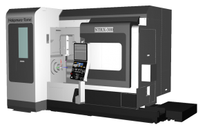 CAMplete TurnMill Machine Simulation - NTRX 300