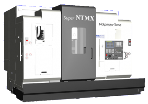CAMplete TurnMill Machine Simulation - Super NTMX