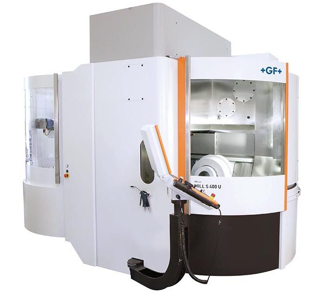 Mikron Mill S 400 U - High Speed Machining