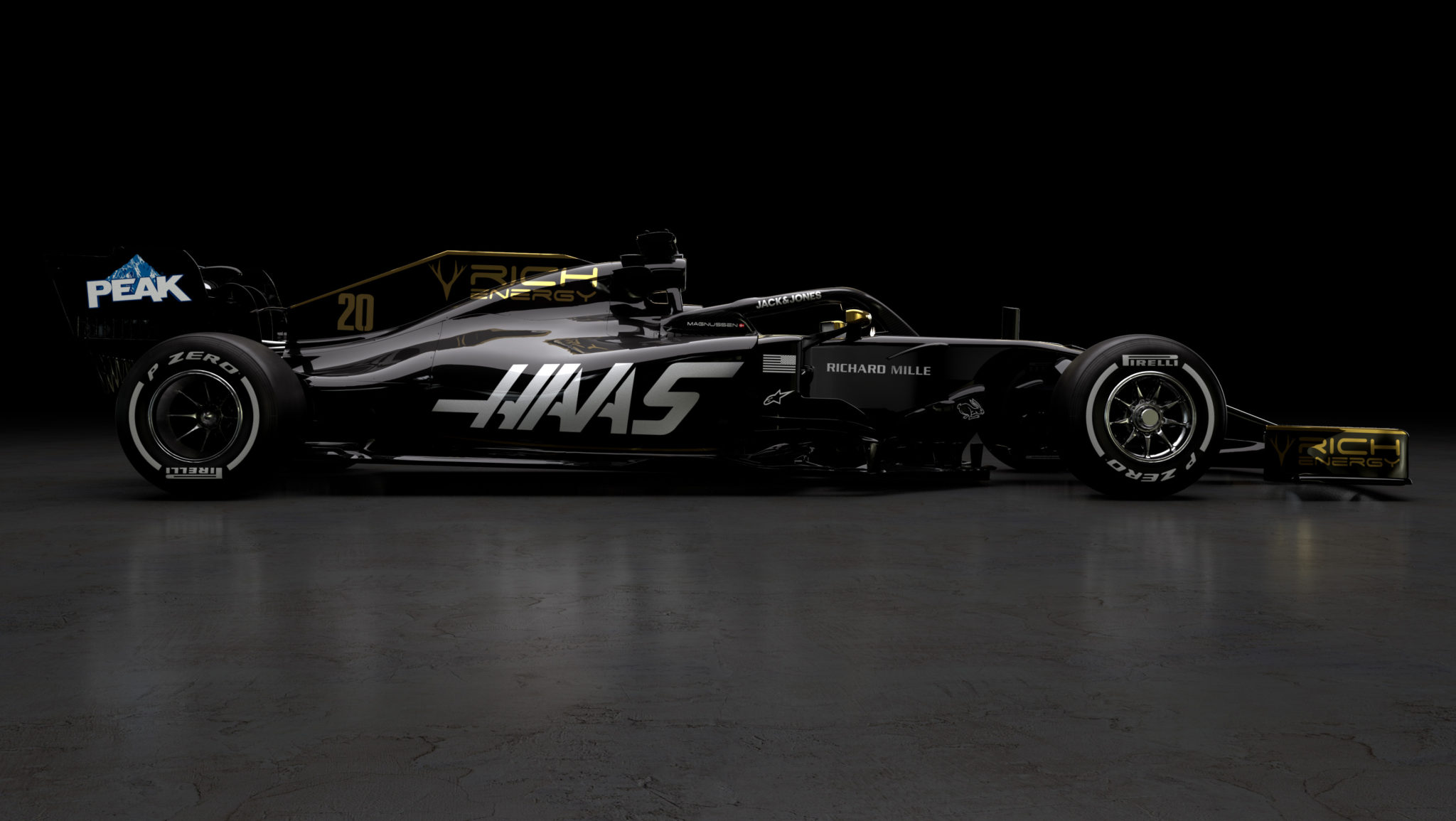 Rich Energy Haas F1 Team Car