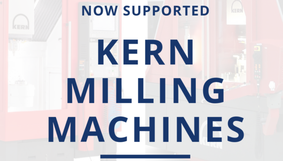 Kern Milling Machines Now Supported